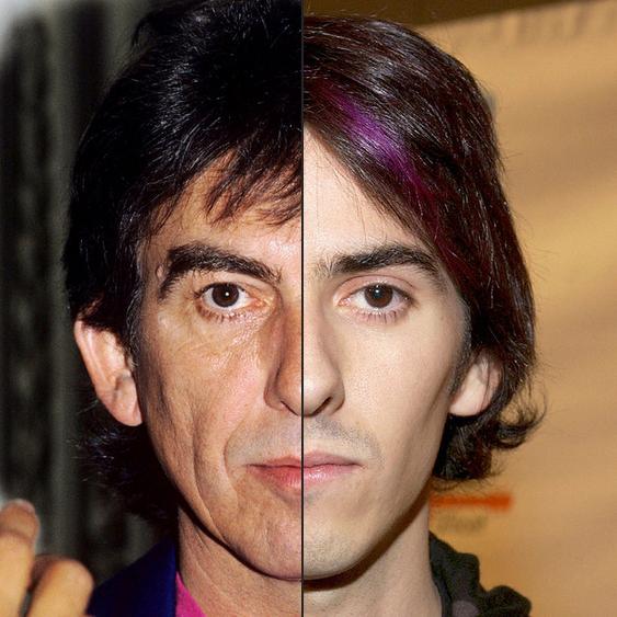 George Harrison e Dhani Harrison