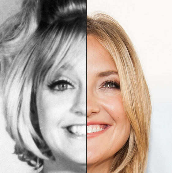Goldie Hawn e Kate Hudson