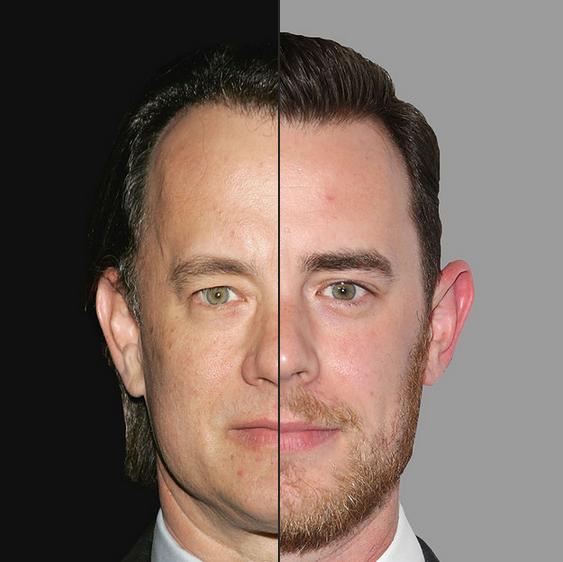 Tom Hanks e Colin Hanks